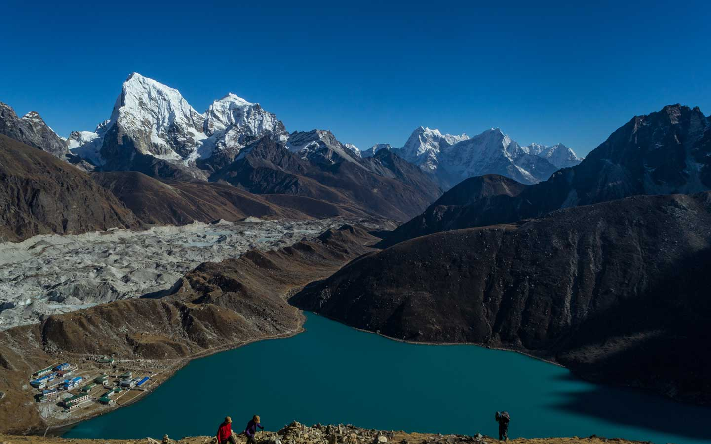 Everest Base Camp via Gokyo Lake Treks