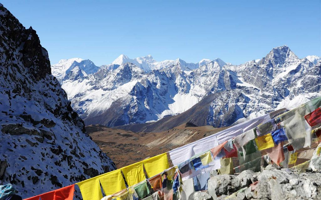 Everest Base Camp-Cho-La Pass- Gokyo Trek
