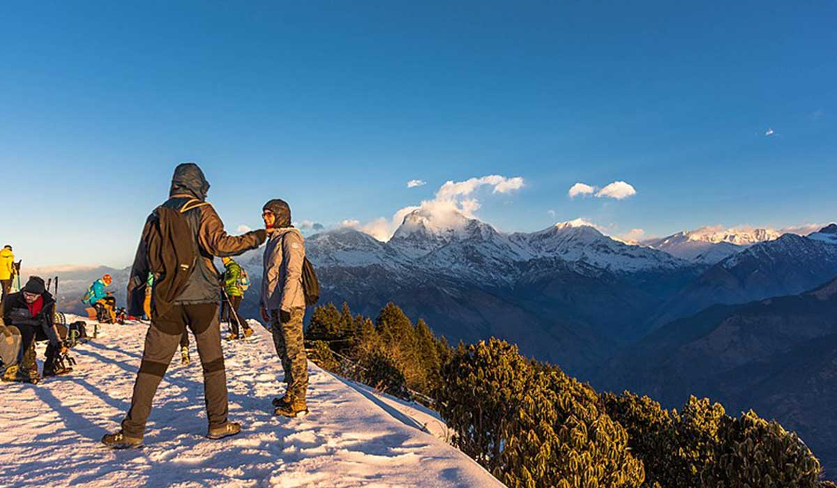 ghorepani poon hill trek 6 days
