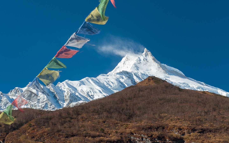 Trekking in Nepal in November Manaslu Circuit Trek