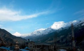 Annapurna Circuit in winter