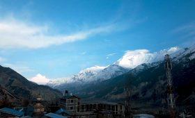 Annapurna Circuit in winter