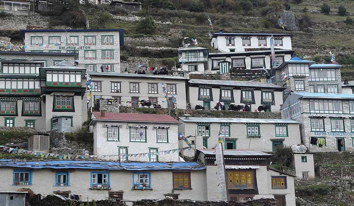 Teahouses on the Everest Base Camp Trek