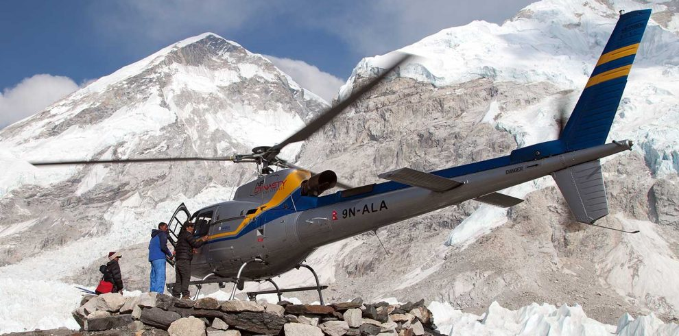 9 Days Everest Base Camp Trek with Helicopter Return
