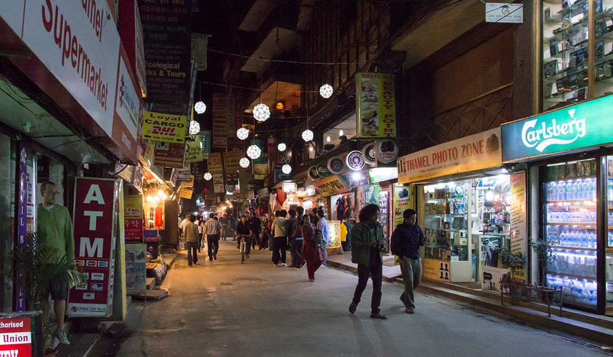 Thamel (Whre to stay in kathmandu)